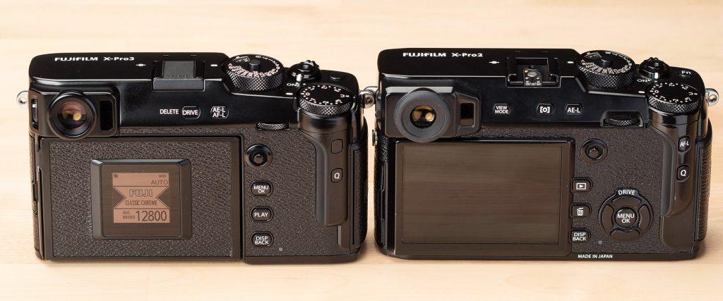 Fujifilm X-Pro 3 VS X-PRo 2